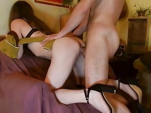 Sexy Cheating GF will win Corrected with Blowjob & Hard Fucking - Sara'Sam