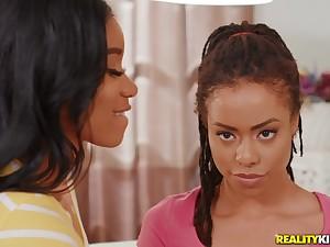 Long legged nubian beauties hot lesbian sex video