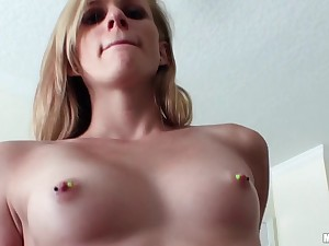 Young blonde is in all directions more fuck in your hotel region