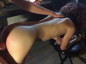 Naughty Bubble Butt Teen gets SLAYED