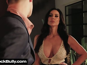 Depraved big breasted Kendra Libido provides radiate with BJ before steamy sex