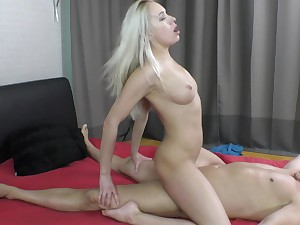 Pussy licking and a vibrtor besides sex are very welcome for Angelika Grays