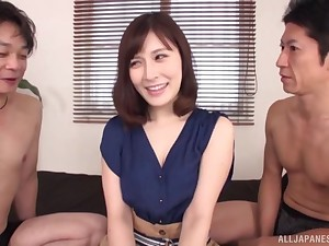 Kaise Anju is between her horny friends during a wild threesome