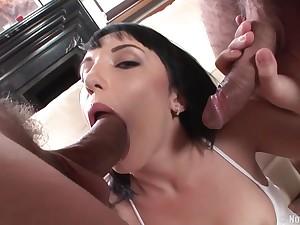 Coed Streetwalker Galina Double Penetrated Hard - whore