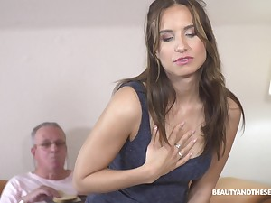 Sex from behind is the favorite sex pose of ebullient Azure Angel