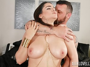 Obese get hitched Alix Lovell gets her pussy licked and fucked nice