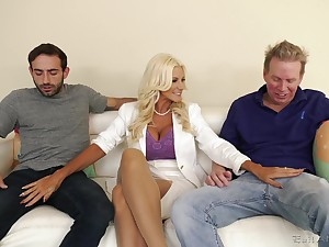 Slutty pretty good wife Brittany Andrews needs two cocks fro please her