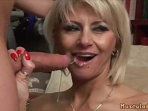 Arousing Mom Cathy Fucks Son As A Filthy Whore