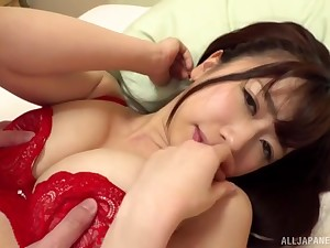 Amateur Japanese cutie bald coupled with fucked everywhere the guest-house room